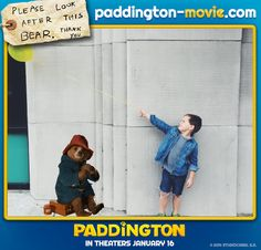 The cutest way to experience life with Paddington. Visit paddington-movie.com to experience the Paddington photo app!