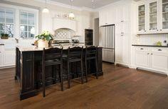 custom hickory flooring solid