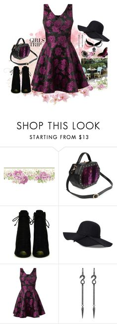 """""""Wine Tasting"""" by lathronniel ❤ liked on Polyvore featuring Tom Ford, Mela Loves London, Charm & Chain, Michael Spirito, Avalaya and vintage"""