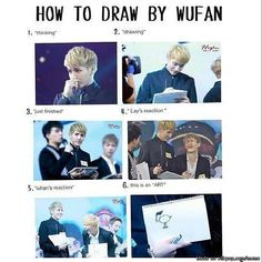 Kris believes he is the Picasso in EXO. Don't know whether to laugh or cry? | allkpop Meme Center