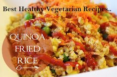 Luscious Food Recipes For The Soul: Best Healthy Vegetarian Recipes