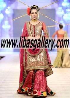Fahad Hussayn Latest Luxurious Women`s Fashion - Fahad Hussayn Haute Couture - Fahad Hussayn Bridal dresses Express delivery to USA, Canada, UK and worldwide
