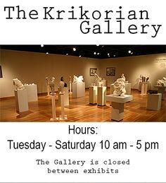 Krikorian Gallery Hours