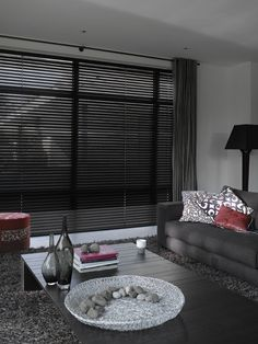 Perfect Black Venetian Blinds. Very Stylish And Contemporary
