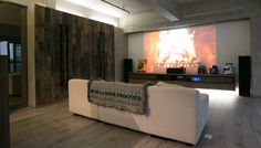Set up home theater – ideas and tips for optimal interior design – decor store 2018 Living Room Sets, Living Room Designs, Create Your House, Best Interior Design, Home Theater, Cozy House, Great Rooms, New Homes, House Design