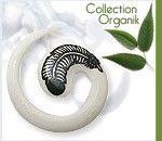 Un anneau original pour les lobes d'oreille stretchés ! Anneau confectionné en Corne Motif : Plume