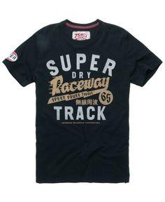 Superdry Raceway Speedway T-shirt - Men's T Shirts