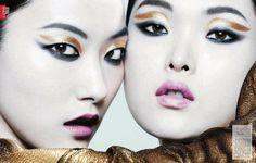 Sung Hee & Ji Hye Park for Vogue China June 2013