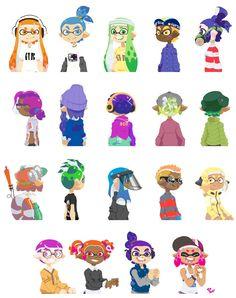 Splatoon animation // Art by Splatoon 2 Game, Splatoon Comics, Video Game Art, Video Games, Hamilton Drawings, Pokemon, Otaku, Animal Crossing, Art Reference