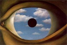 Rene Magritte was one of the leading artists of Surrealism. Here are his 10 most famous paintings including his surrealist masterpieces. Rene Magritte, Illuminati, Magritte Paintings, Monet, Eye Expressions, Guernica, Art Courses, Eye Art, Museum Of Modern Art