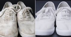 Трюк для очищения обуви без особых усилий! Лучше машинной стирки.