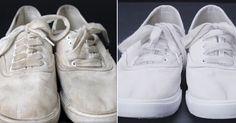 Трюк для очищения белых кроссовок.... Обсуждение на LiveInternet - Российский…