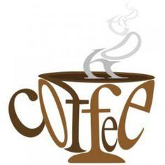 Coffee typography