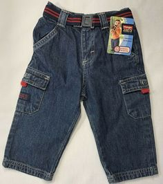 Baby & Toddler Clothing Clothing, Shoes & Accessories Nwt Gymboree Boys Construction Crew Blue Denim Jean Cargo Shorts 3-6 M Various Styles