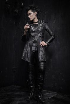 photo n°4 : Veste gothique PUNK RAVE 'entité'