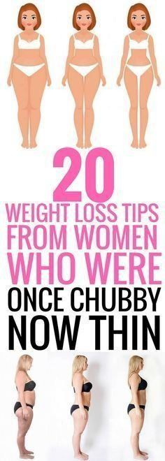 20 weight loss tips from women who were once chubby now thin