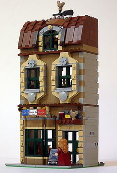 lego  Le Maison de Many by valgarise @ Flickr