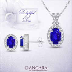 Heirloom #Tanzanite #Jewelry at great price exclusively at #angara.