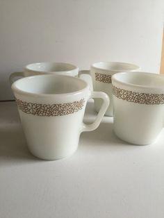 Pyrex Coffee Mugs Vintage