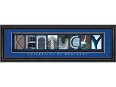 Campus Letter Art