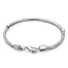 8c2a44d8a Snake Charms Snake Chains Snake Bracelets 6. 7 Inch Snake Chain Lobster  Clasp Bracelets, Charms Beads, Bracelets | Pugster.com