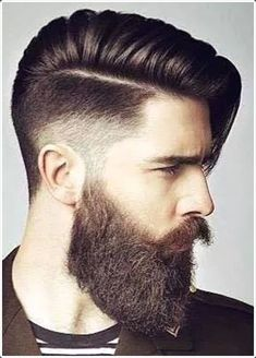 Beards have been becoming increasingly common and finding a hairstyle that works well with the beard is hard. For this purpose, mentioned below are numerous hairstyles for men with beards. Go through them and choose the one that you think will be best for your face!