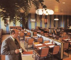 K-Mart Restaurant, circa 1976. Most department stores of that era had these. The food was about what you would expect from such a location.