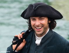 """Irish actor Aidan Turner is playing Captain Ross Poldark in a new """"Poldark"""" series, now being filmed on location in Cornwall photo by Tim Martindale Photography"""
