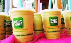 Daily Juice, Austin, TX, #organic fresh fruit smoothies | #restaurantreviews