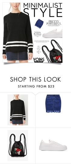 """""""Yoins :For a date"""" by yoinscollection on Polyvore featuring Monki, Victoria Beckham and Rika"""