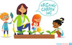 Gardening can also be a way to have family communication.