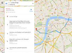 Ya está lista la nueva interfaz de Google Maps tanto en web como en la aplicación para iPad/iPhone.