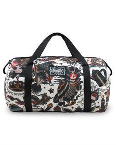 Liquor Brand Damen NEO FLASH Tasche/Tote.Oldschool,Tattoo,Pin up Clothing Style