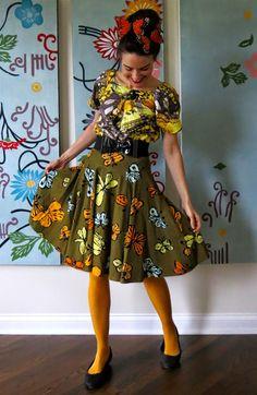 Cassie Stephens: What the Art Teacher Wore Art Teacher Outfits, Teacher Wear, Teacher Wardrobe, Teaching Outfits, Teacher Style, Teacher Clothes, Teacher Fashion, Quirky Fashion, Nautical Fashion