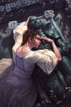 The Forgotten Knight Fantasy Art | Love Never Dies Picture (2d, fantasy, girl, woman, medieval)