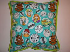 Scooby-Doo & Gang Pillows by GoughGoodies on Etsy