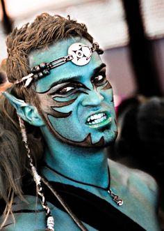 Maquillaje para Escuadra Especial para Moros y Cristianos