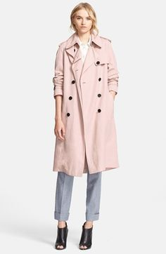 Burberry London 'Terrington' Double Breasted Trench Coat available at #Nordstrom