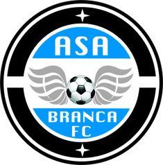MG_ASA BRANCA_SARZEDO Football Mexicano, Sports Logo, Juventus Logo, Fifa, Herb, Team Logo, Logo Design, Soccer, San