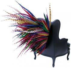 Bergere Big Bang by Gilles Nouailhac, Frenchy Furniture. Between historical heritage and new trends, classic wisdom and wild audacity, Gilles Nouailhac plays with contrasts, widening the field of possible interpretations of a chair.
