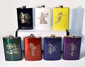 League of Legends 8oz Flask (CHOOSE YOUR CHAMPION)