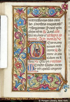 Book of Hours, MS M.80 fol. 50v - Images from Medieval and Renaissance Manuscripts - The Morgan Library & Museum