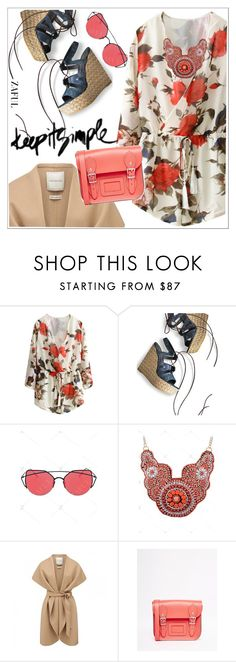 """Zaful"" by teoecar ❤ liked on Polyvore featuring Stuart Weitzman, Forever New, The Leather Satchel Co. and zaful"