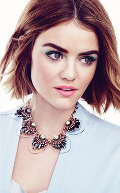 Lucy Hale for Mark Beauty's 2016 'Spring'