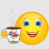Smiley – Kaffee 1