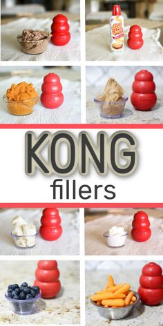 Here are some awesome kong recipes, kong fillers, kong treats, and things you can put in your kong to keep your dog occupied when you need to do something. Puppy Treats, Diy Dog Treats, Homemade Dog Treats, Dog Treat Recipes, Dog Food Recipes, Home Made Dog Treats Recipe, Summer Dog Treats, Homemade Dog Shampoo, Dog Treat Toys