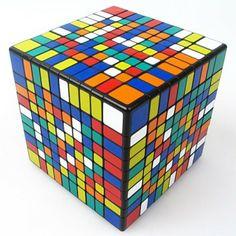 10x10 Cubo ShengShou.Cubo Mágico 10x10x10 Base Negra. 98,95 €