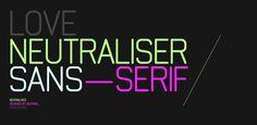 50% Off Neutraliser ☞ https://www.hypefortype.com/sale-items/neutraliser.html #font #sale
