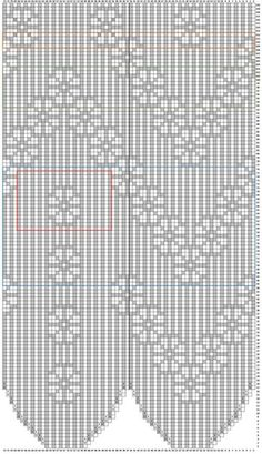 "Вязание. Жаккард - ""Зимняя радуга"" Mittens Pattern, Knit Mittens, Knitting Socks, Hand Knitting, Knitting Charts, Knitting Patterns, Crochet Patterns, Crochet Curtains, Crochet Doilies"