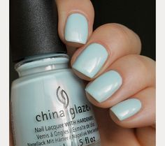 The 35 Prettiest Wedding Nail Colors - soft something blue wedding nails Blue Wedding Nails, Wedding Nail Colors, Wedding Nail Polish, Sns Nails Colors, Neutral Nails, Nail Polish Colors, Bride Nails, Prom Nails, Blush Pink Nails